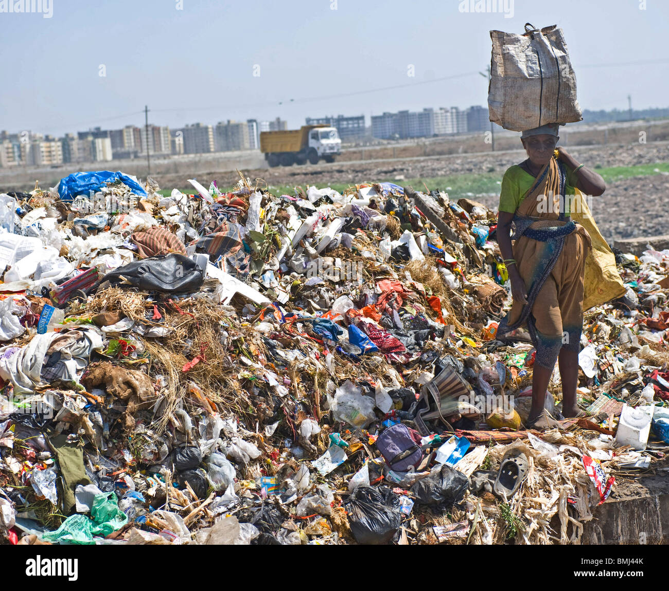 Plastic Recycling India Stock Photos & Plastic Recycling