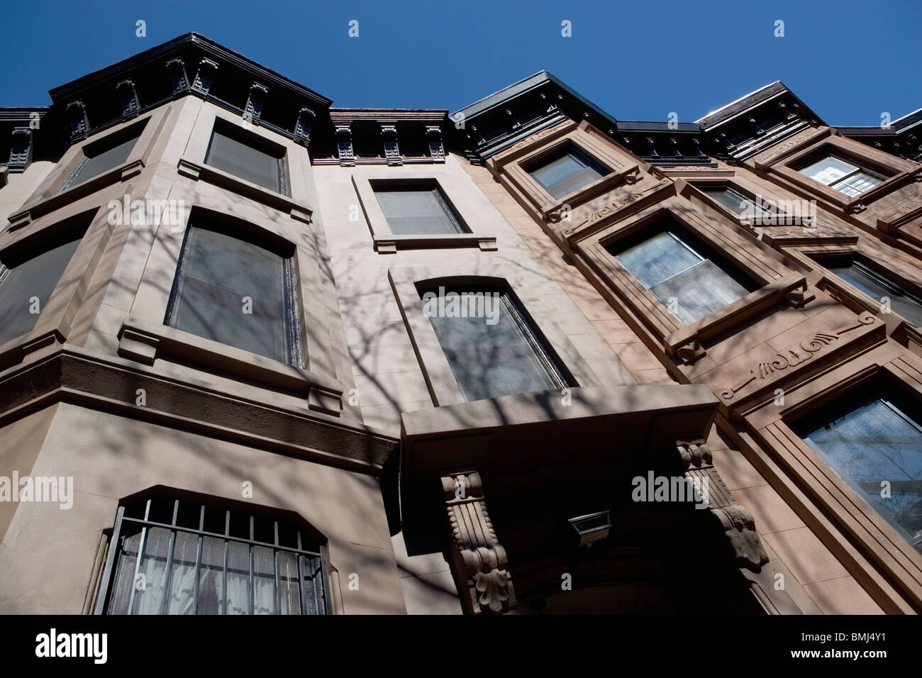 Low angle view of building - Stock Image