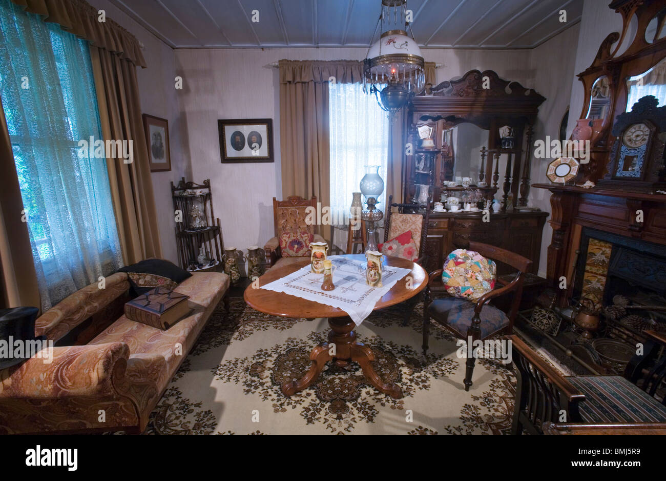 1800s Living Room Stock Photos & 1800s Living Room Stock