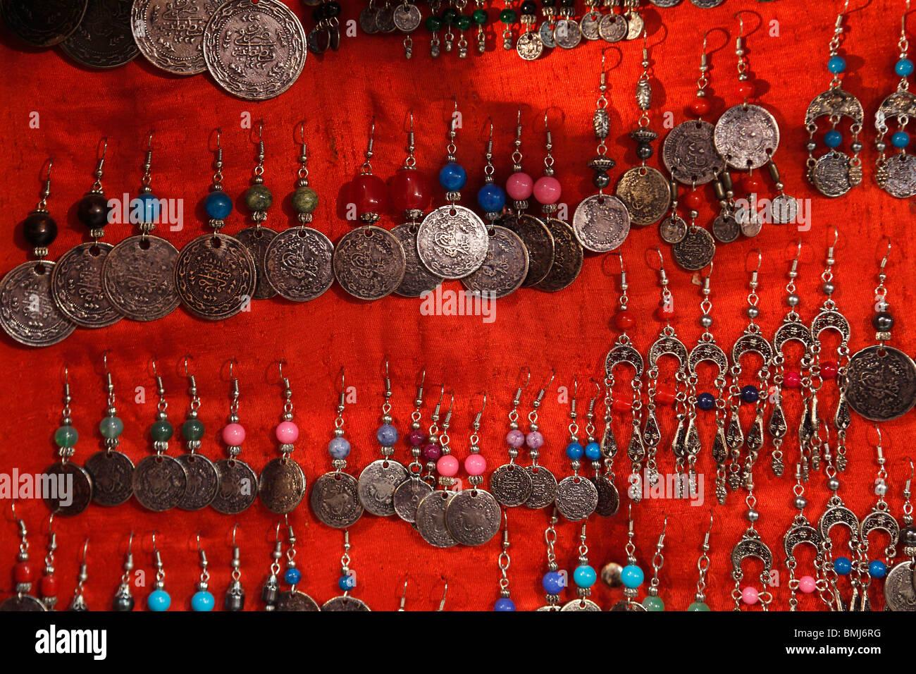 Israel,Jerusalem,Muslim Quarter,markets,Baazar - Stock Image