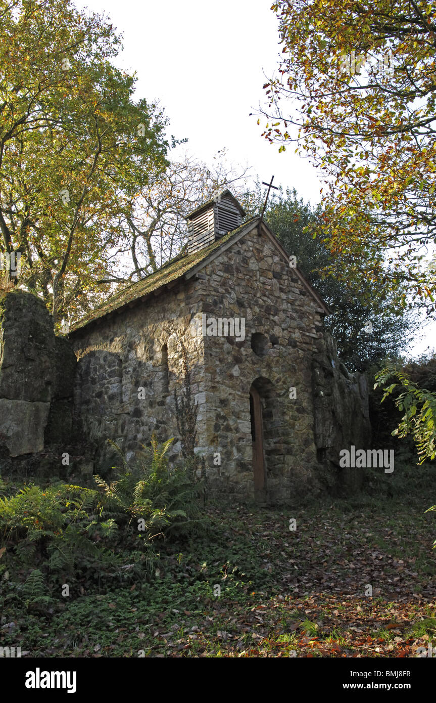 Chapelle St Vital at Mortain in the Manche (50) departement of France - Stock Image
