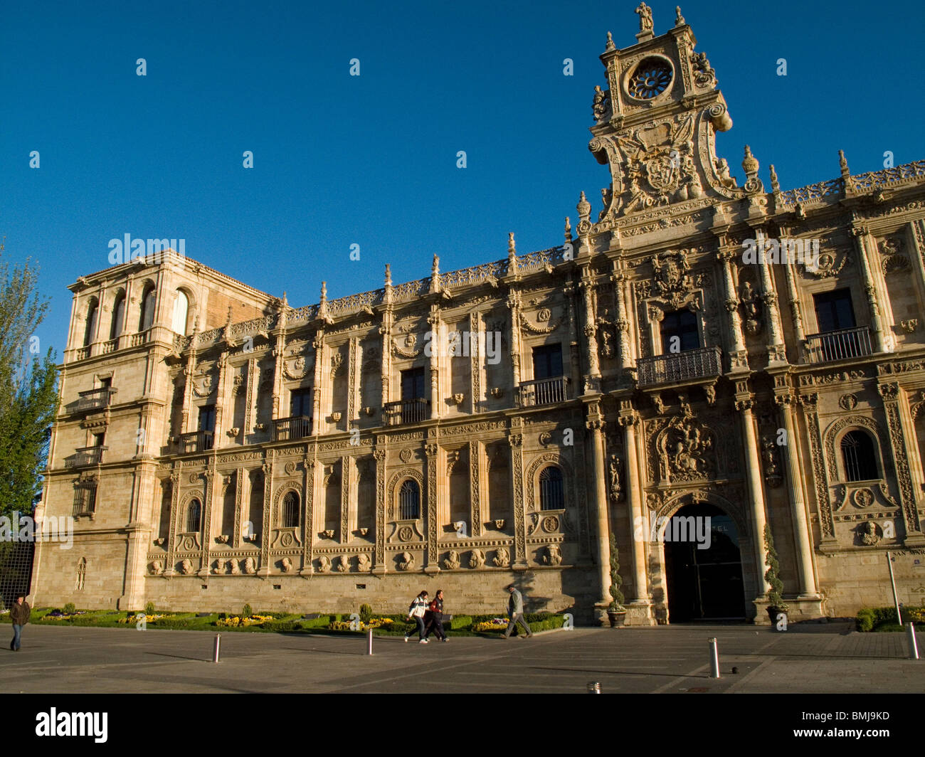 Monastery Hospital of San Marcos, today National Hotel Parador. Leon ...