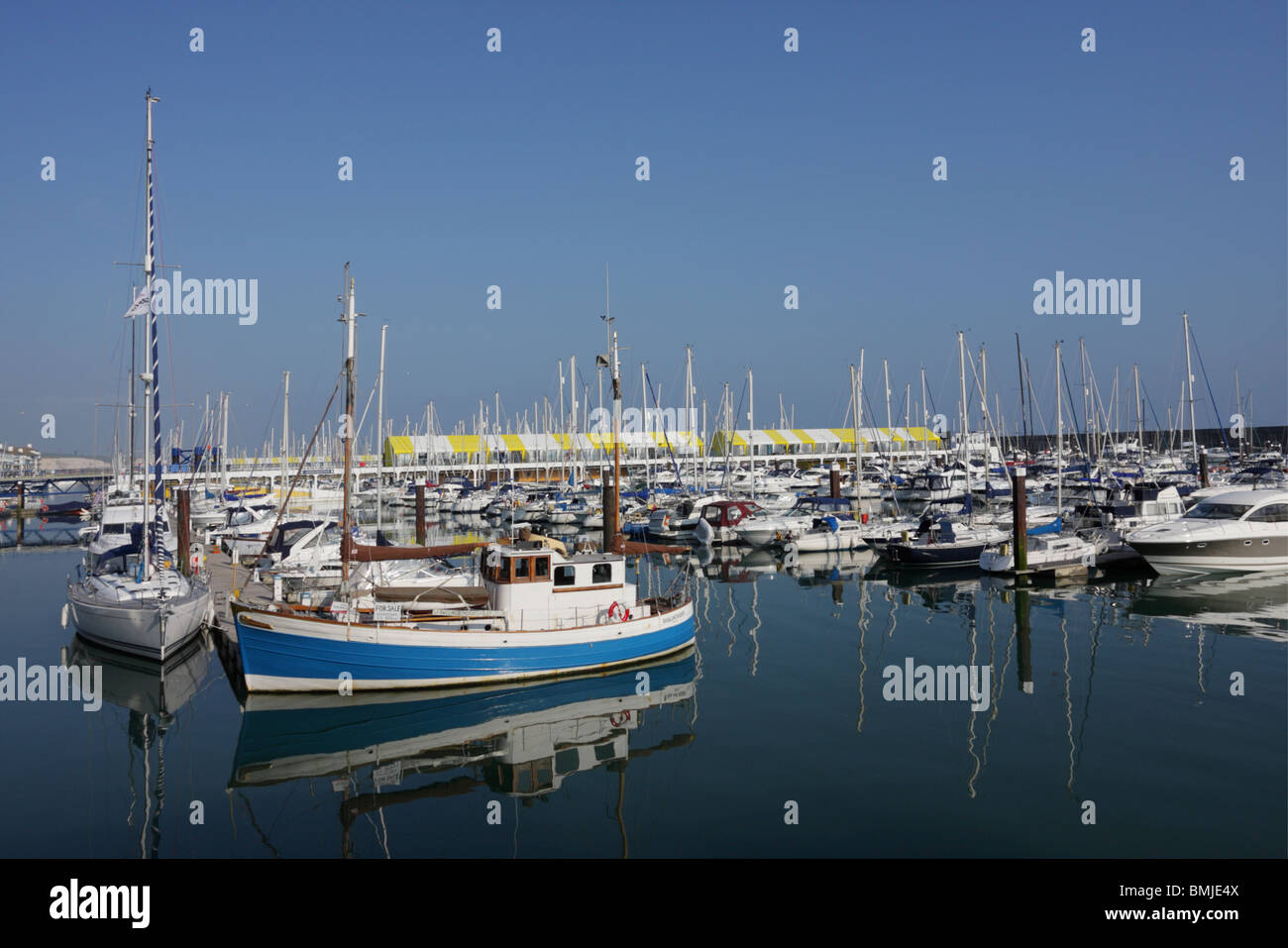 One of (17) images in the Brighton Marina set. various vertical and horizontal images to ponder over, please enjoy. - Stock Image