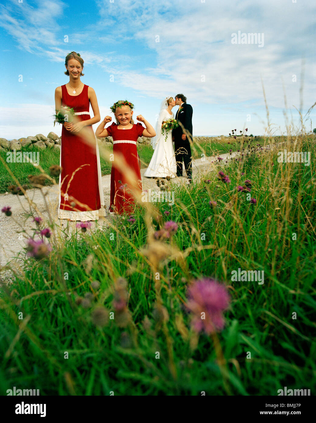 Young Swedish Girl In Traditional Stock Photos Amp Young