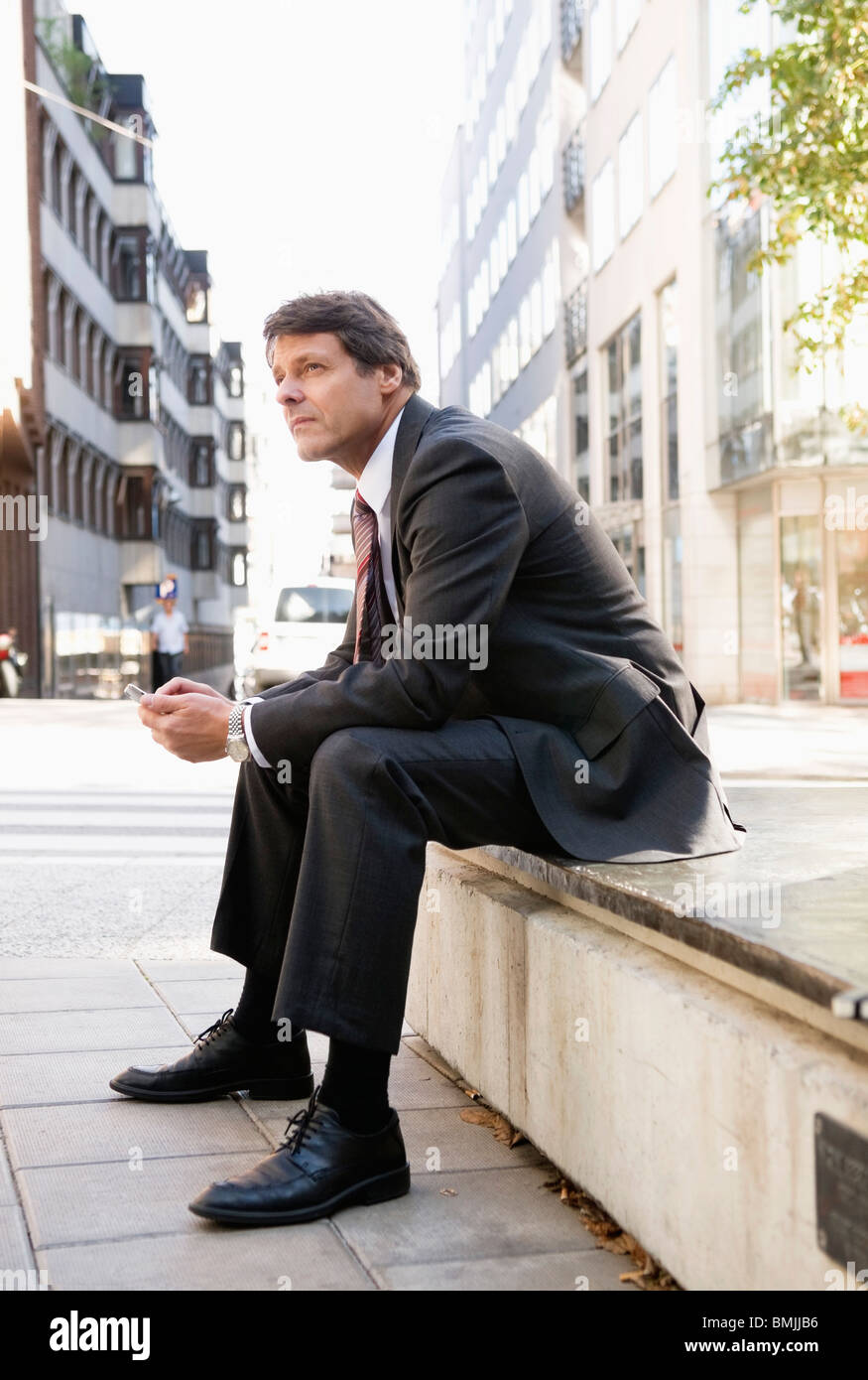 Sit and wait - Stock Image