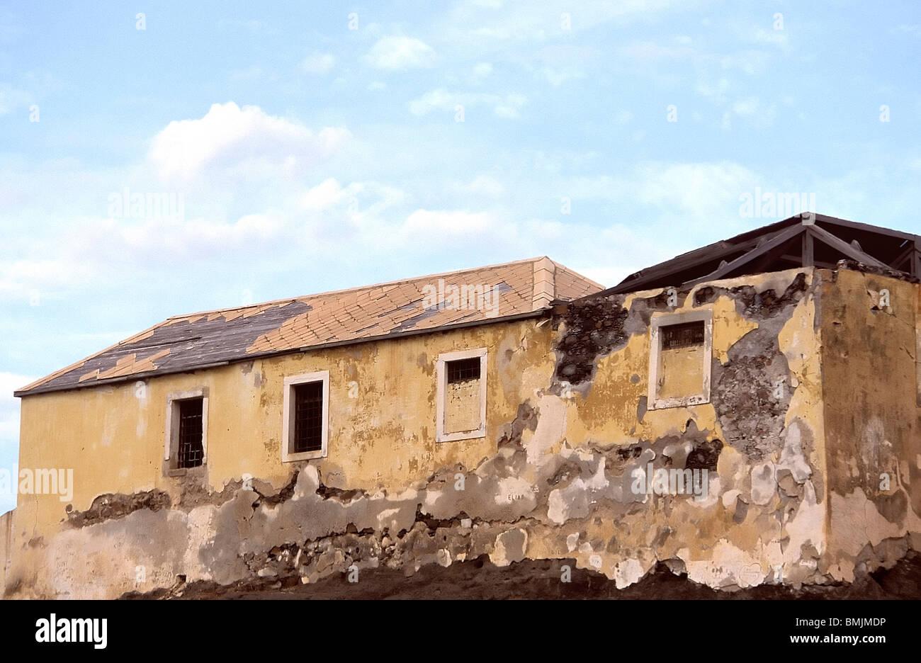 Fortim d'el-Rei in Mindelo, Sao Vicente, Cape Verde Islands Stock Photo