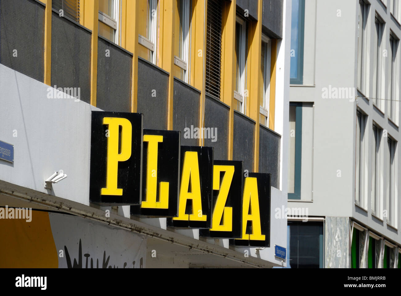 Cinema Pathé Plaza, Basel, Switzerland - Stock Image