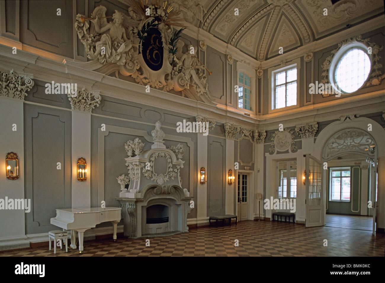 estoniatallinnkadriorg palaceinterior stock image