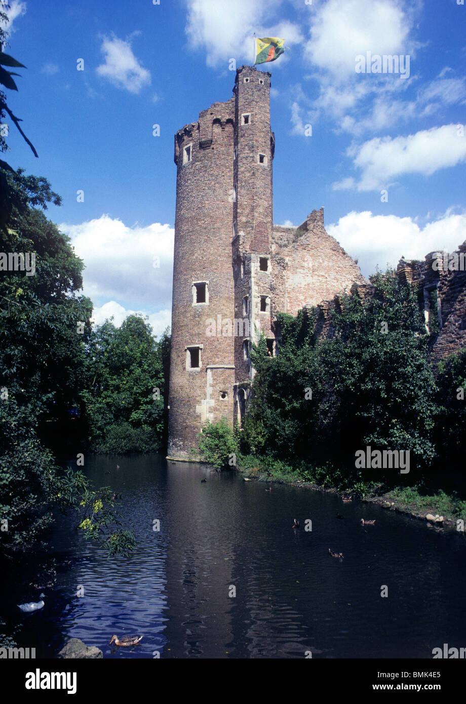 Caister Castle, Norfolk, 15th century English medieval castles, England UK, The Solar Tower Stock Photo