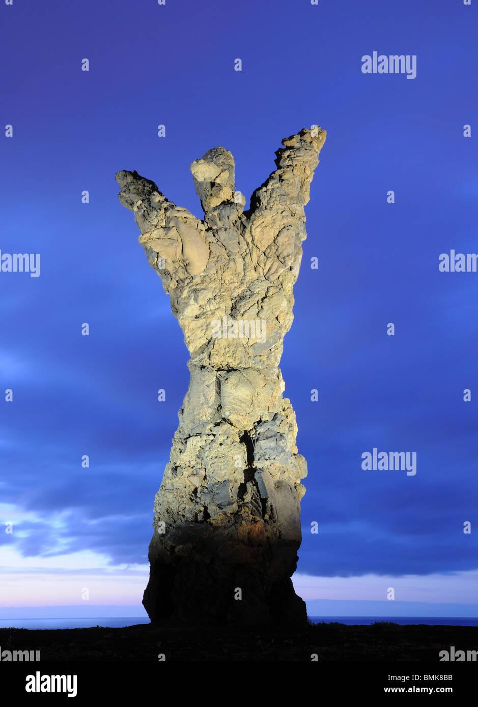 Statue El Atlante in Las Palmas de Gran Canaria, Spain Stock Photo