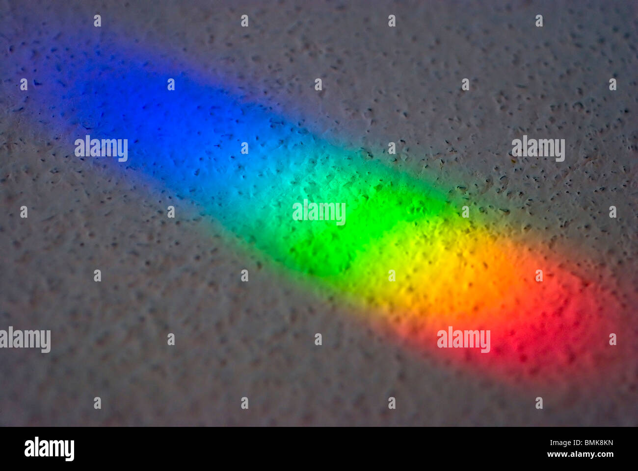 Colours of the rainbow - Stock Image