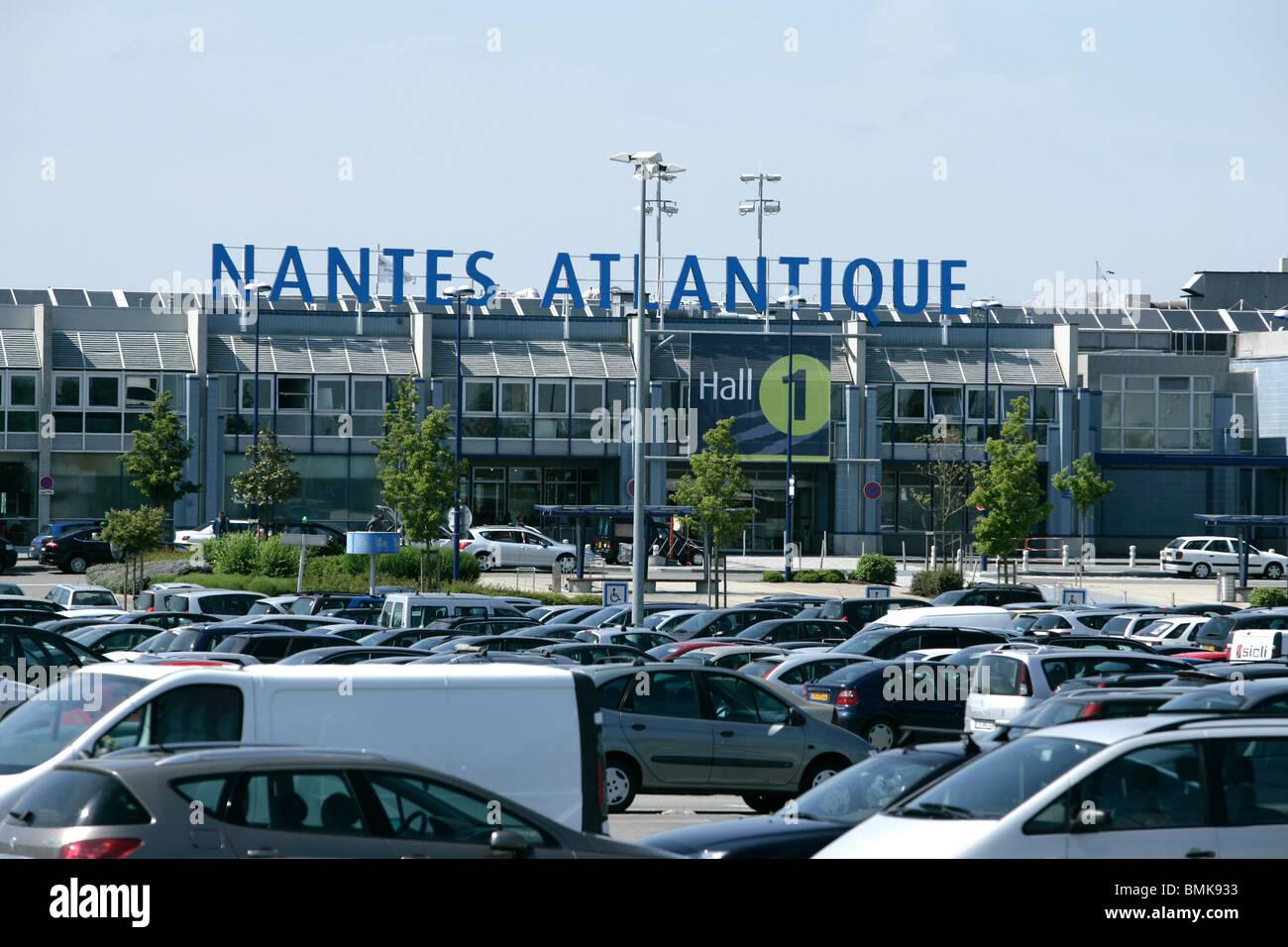 Nantes Atlantique Airport - Stock Image