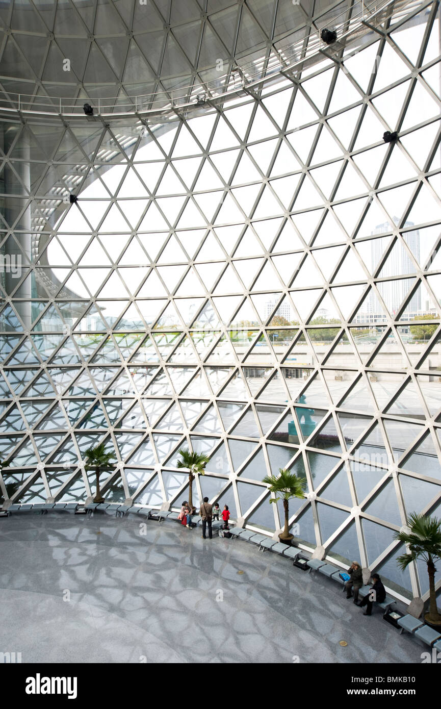 The Shanghai Science and Technology Museum, Shanghai, China - Stock Image