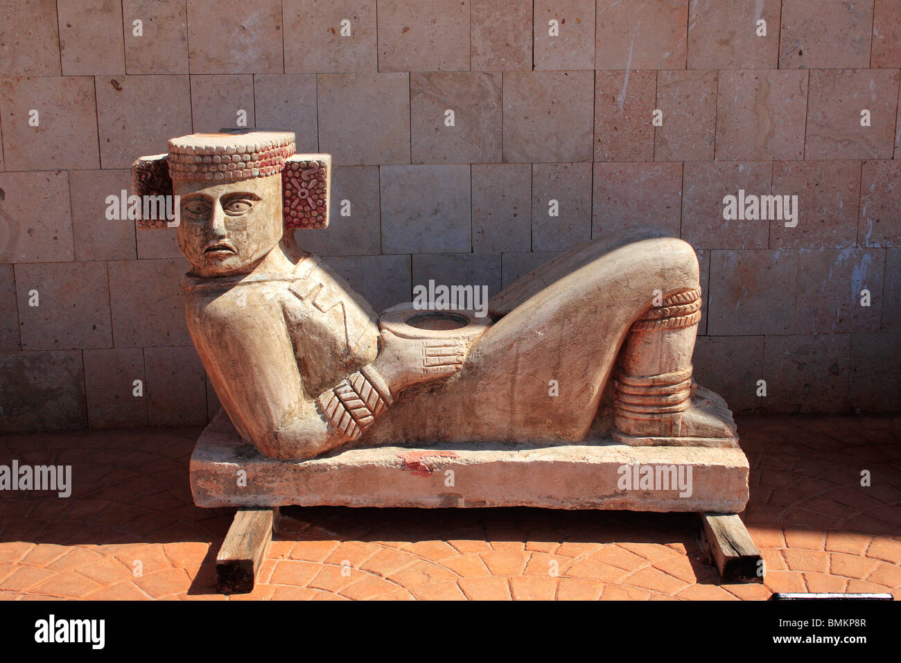 Sculpture ; Progresso ; Mexico - Stock Image