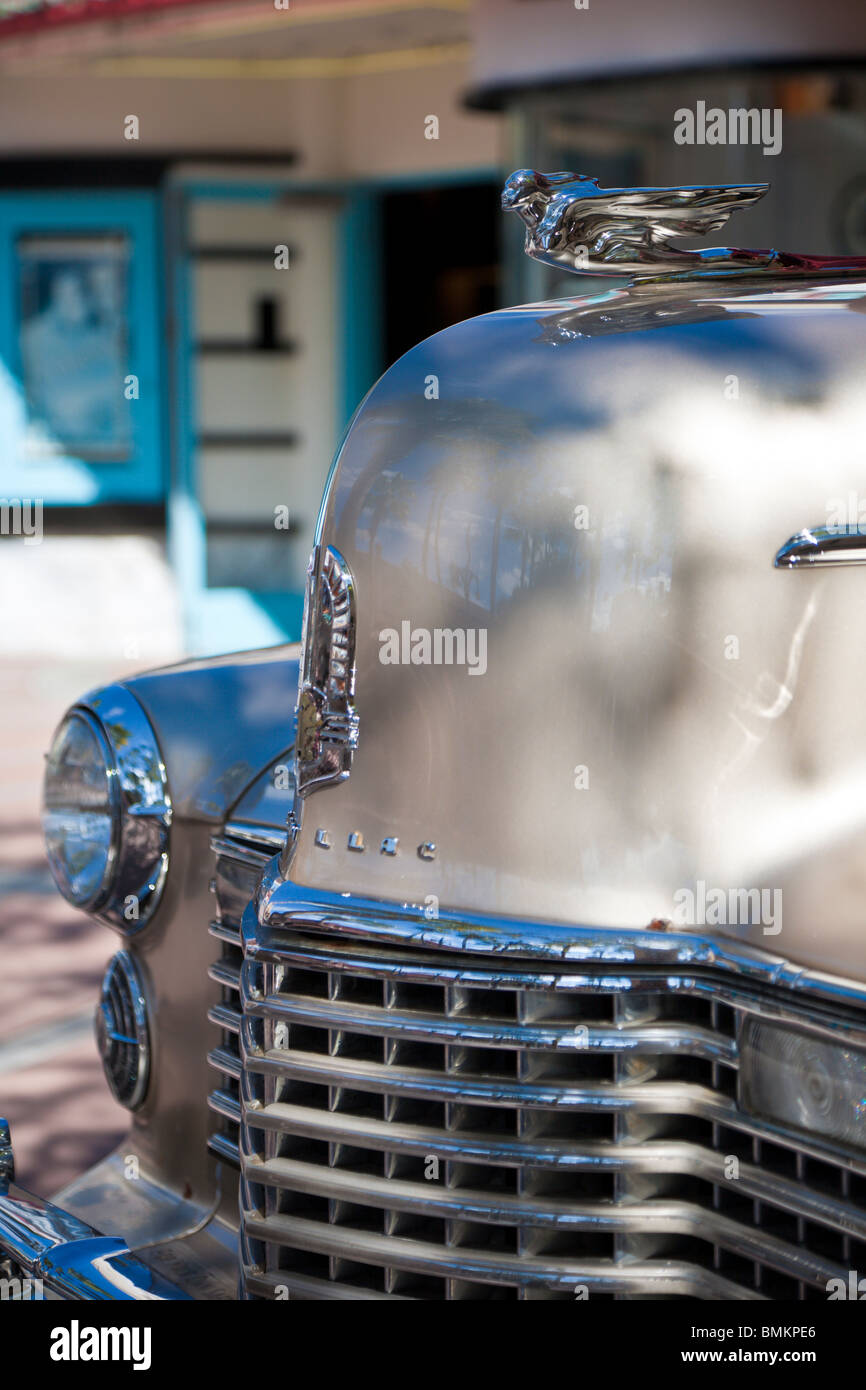 Orlando, FL - Feb 2009 - 1941 Cadillac on display at Disney's Hollywood Studios in Kissimmee Orlando Florida - Stock Image