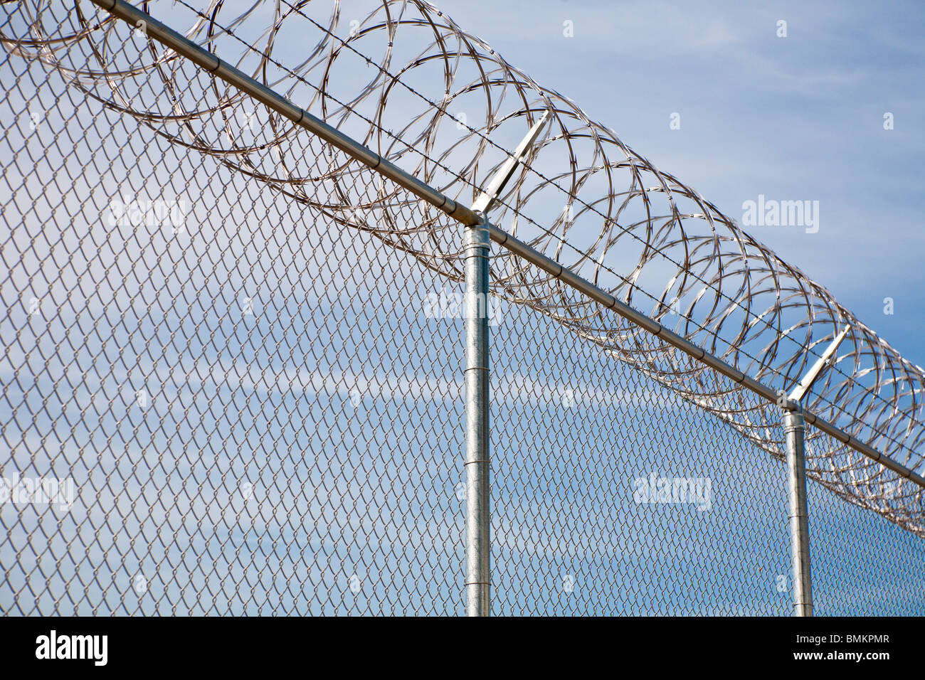 Stainless Steel Fencing Stock Photos & Stainless Steel Fencing Stock ...