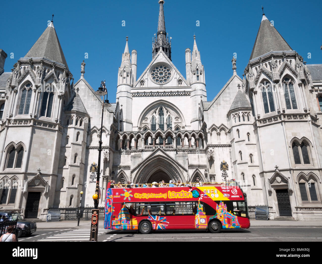 Royal courts of Justice London, England - Stock Image