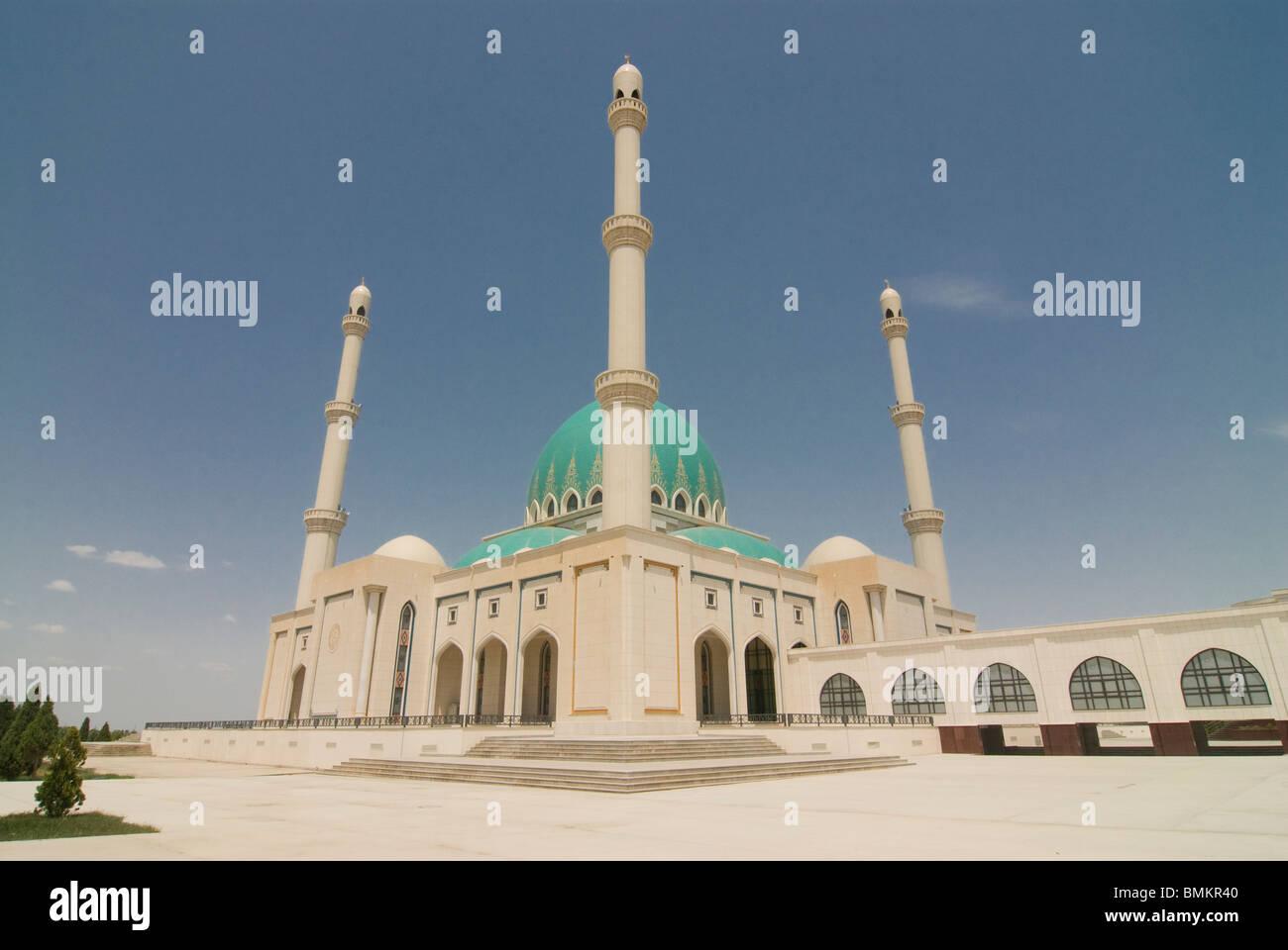 Saparmurat Haji Mosque, Turkmenistan - Stock Image