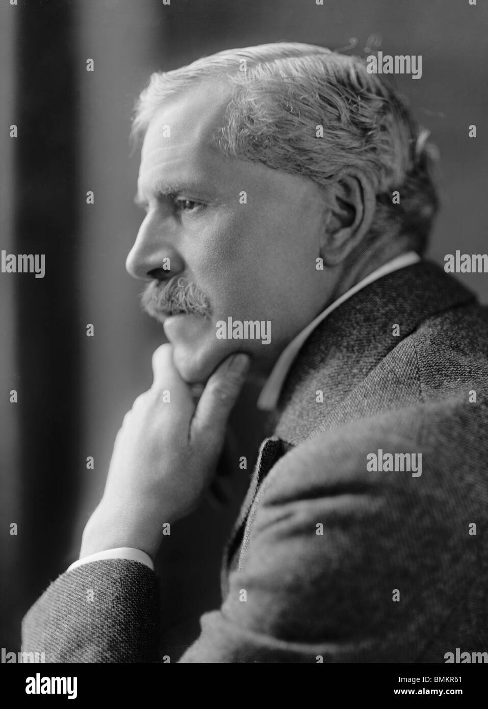Undated photo of James Ramsay MacDonald (1866 - 1937) - Labour statesman and twice UK Prime Minister (1924 and 1929 - Stock Image