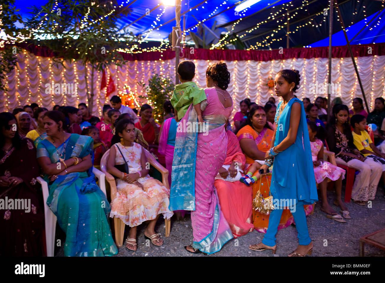 Mauritius girl dress stock photos mauritius girl dress stock hindi wedding trou d eau douce mauritius africa stock image junglespirit Images