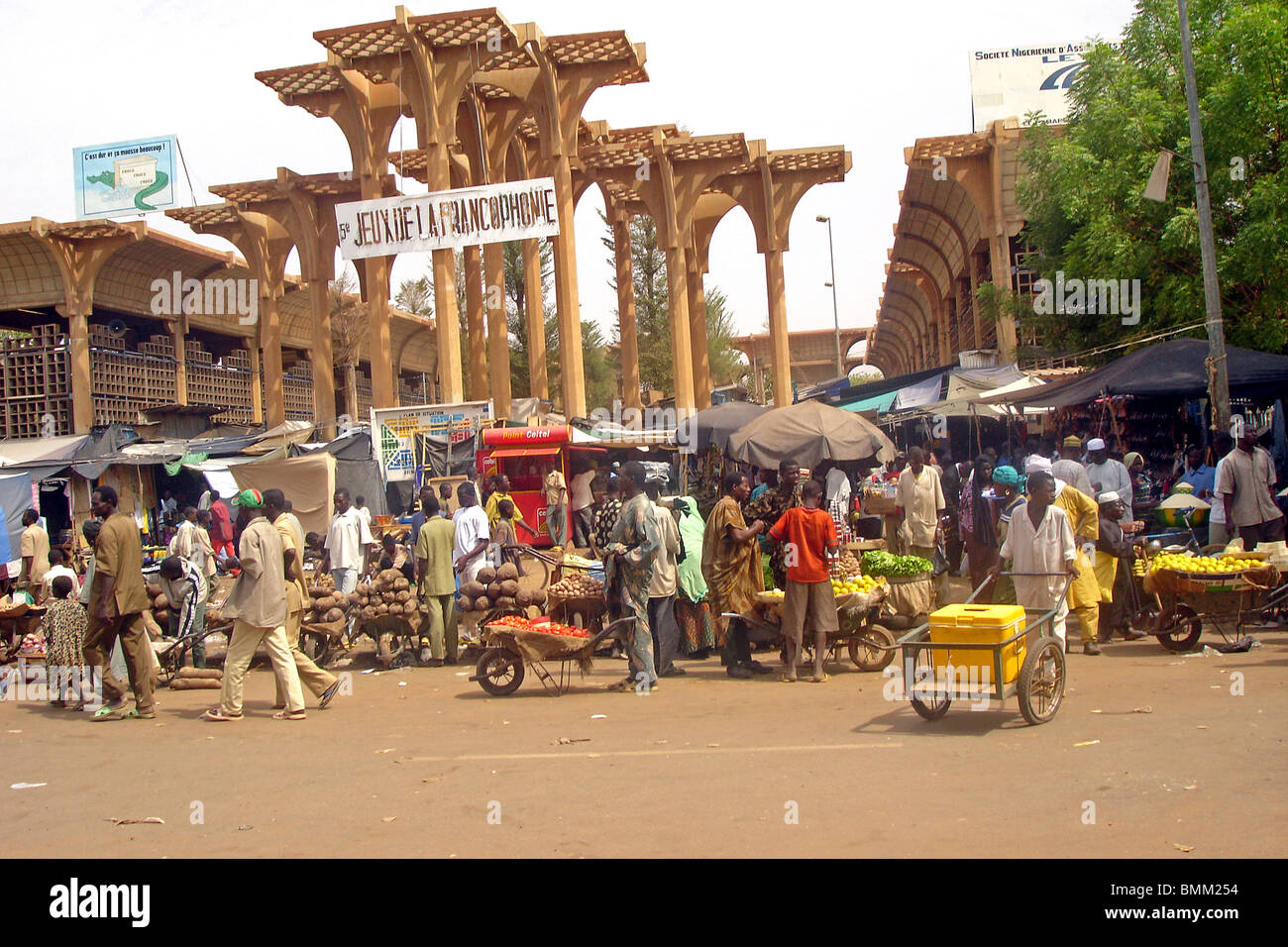 The capital of Niger is Niamey 56
