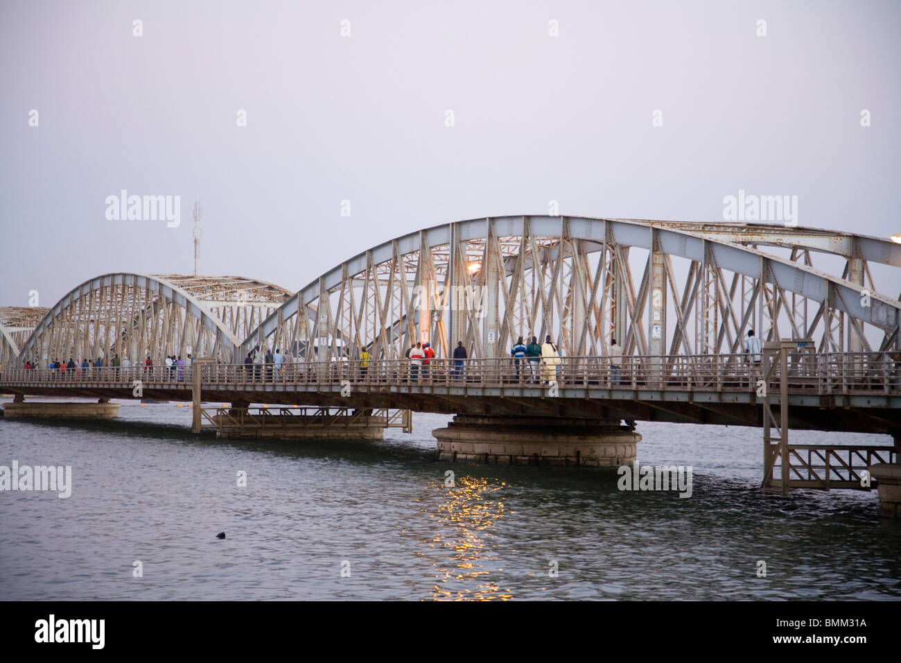 Senegal, Saint-Louis. Pont Faidherbe - Stock Image