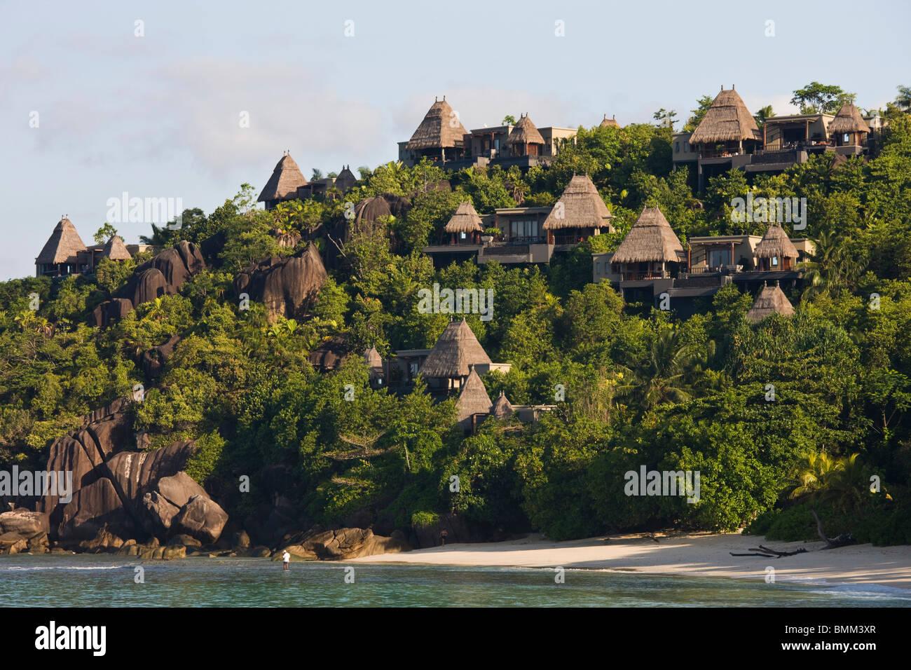 Seychelles Mahe Island Anse Boileau Bungalows Of The Maia