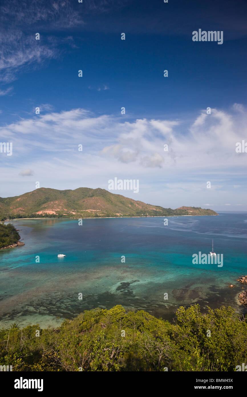 Seychelles, Praslin Island, Anse Volbert, Curieuse Bay Stock Photo