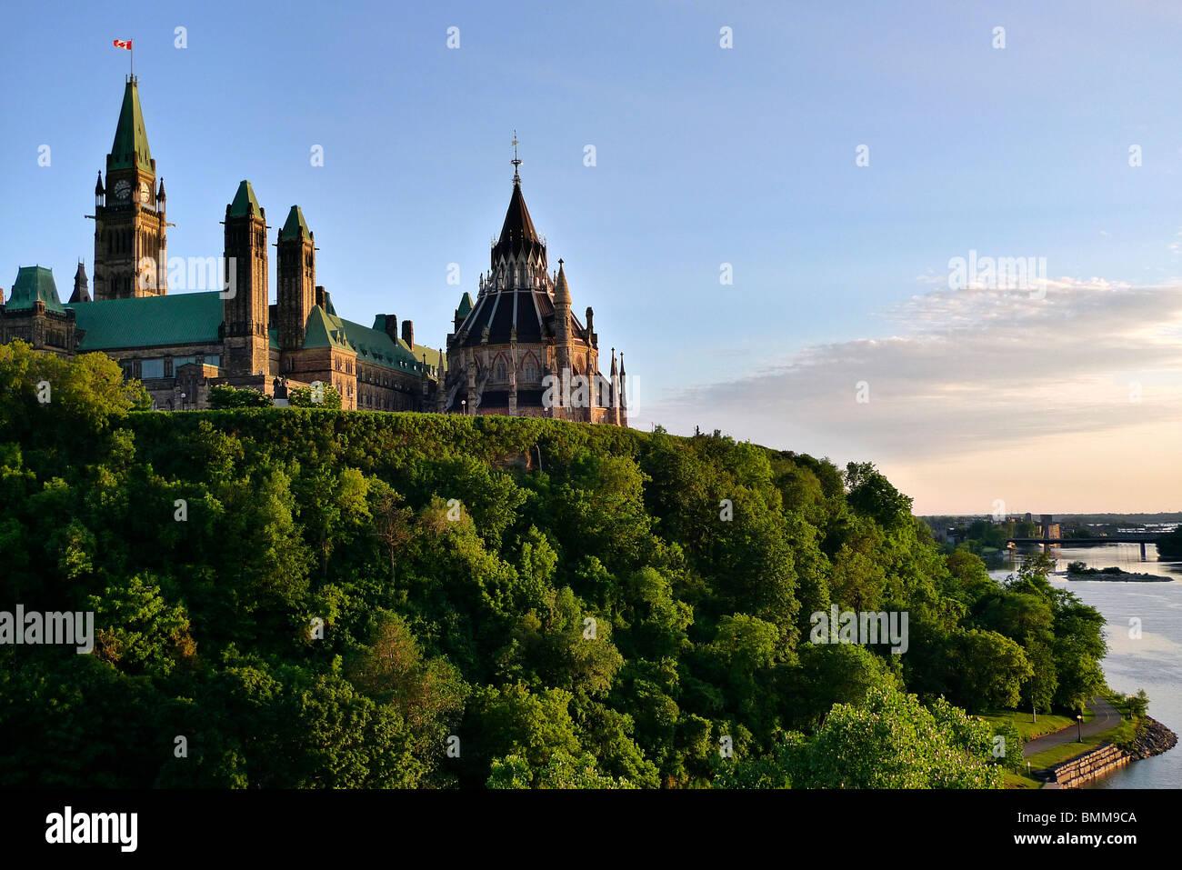 Canadian Parliament Buildings, Ottawa Ontario, Canada. - Stock Image