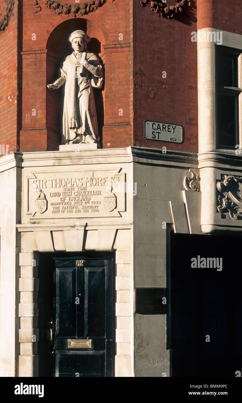 Sir Thomas More House, Thomas Moore Chambers, Carey Street, London - Stock Image