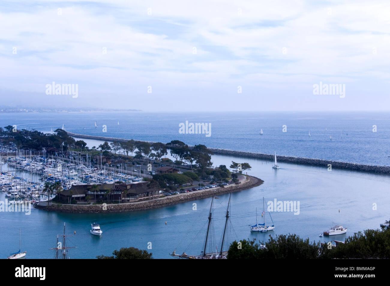 Dana Point Harbor,California USA - Stock Image