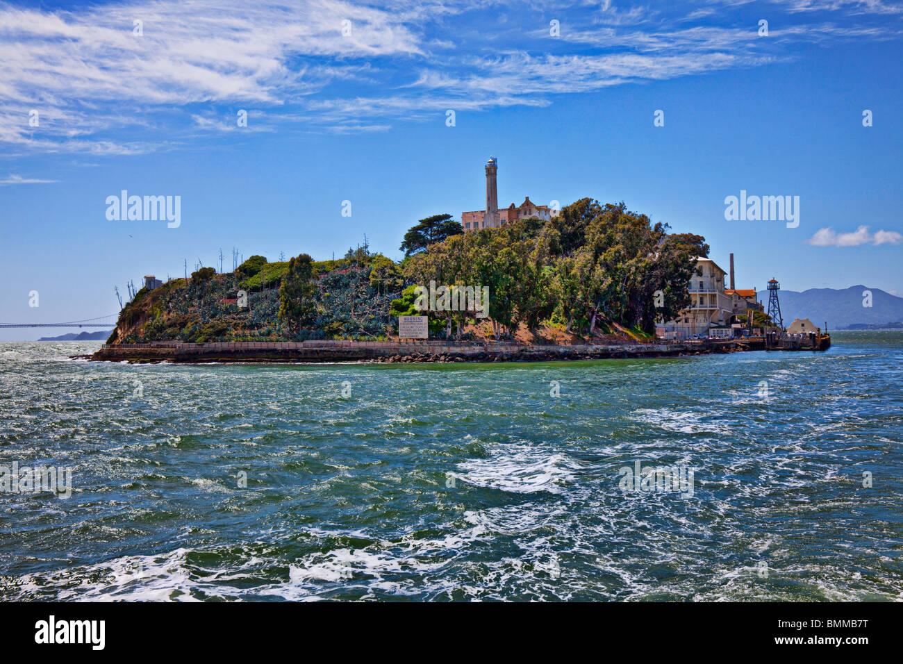 Alcatraz island San Francisco - Stock Image