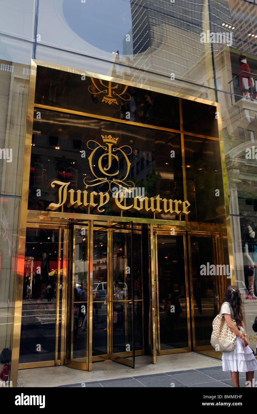 Juicy Couture store, New York City, USA - Stock Image