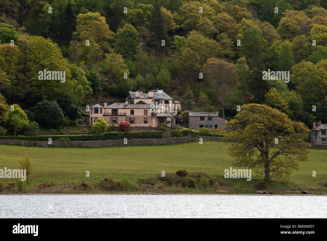 John Ruskin's house, England. - Stock Image