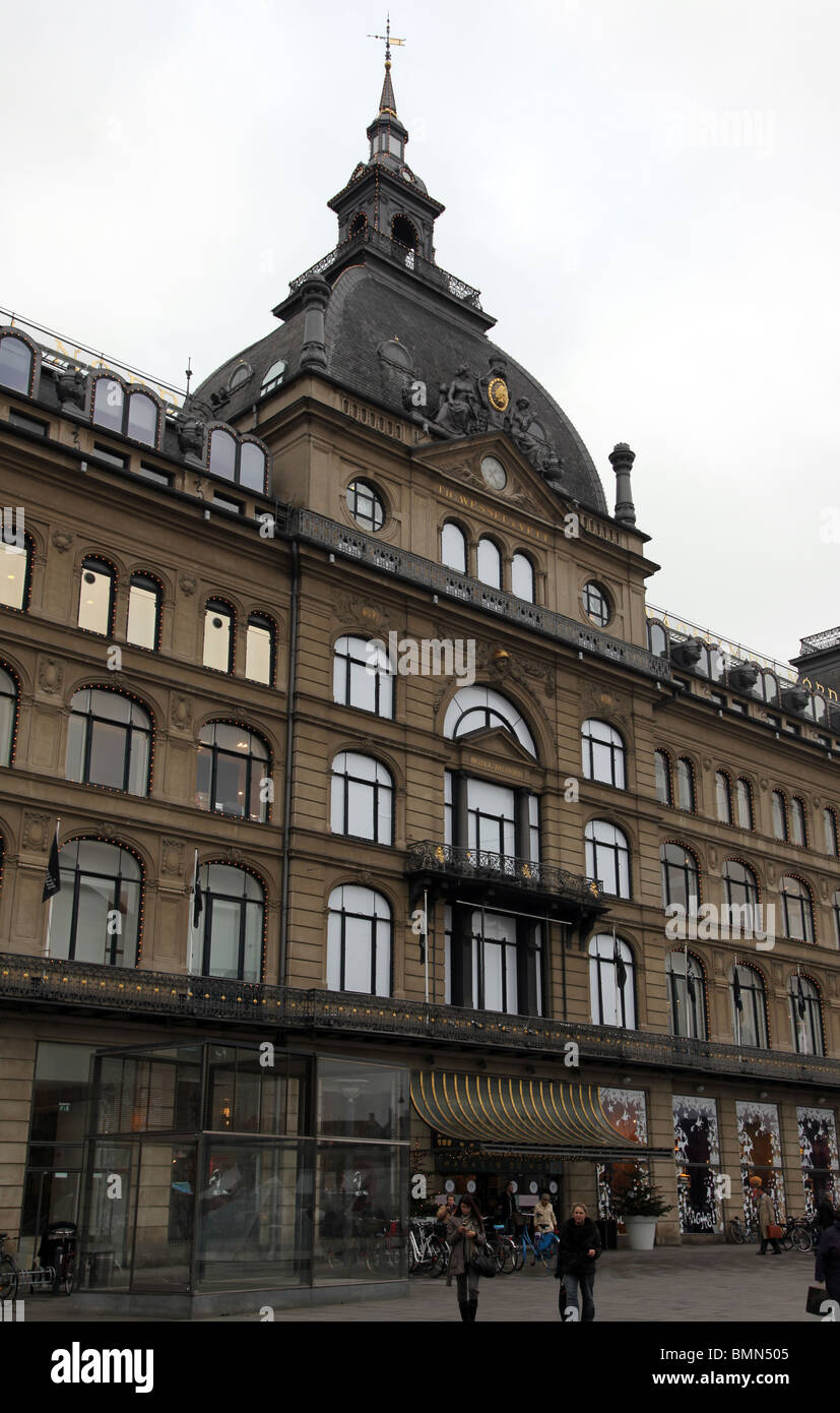 Kongens Nytorv Copenhagen - Stock Image