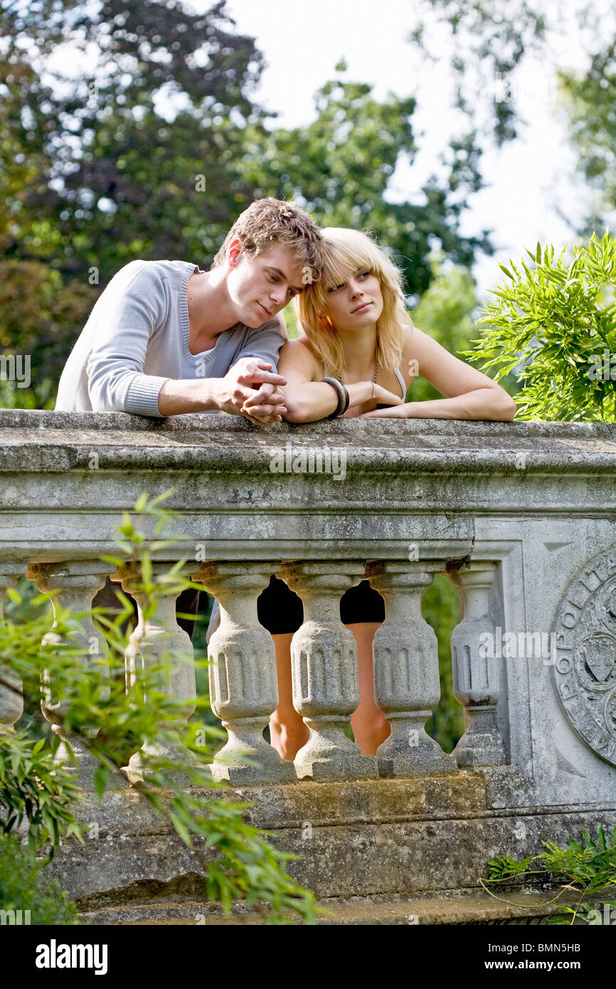 City break romance - Stock Image