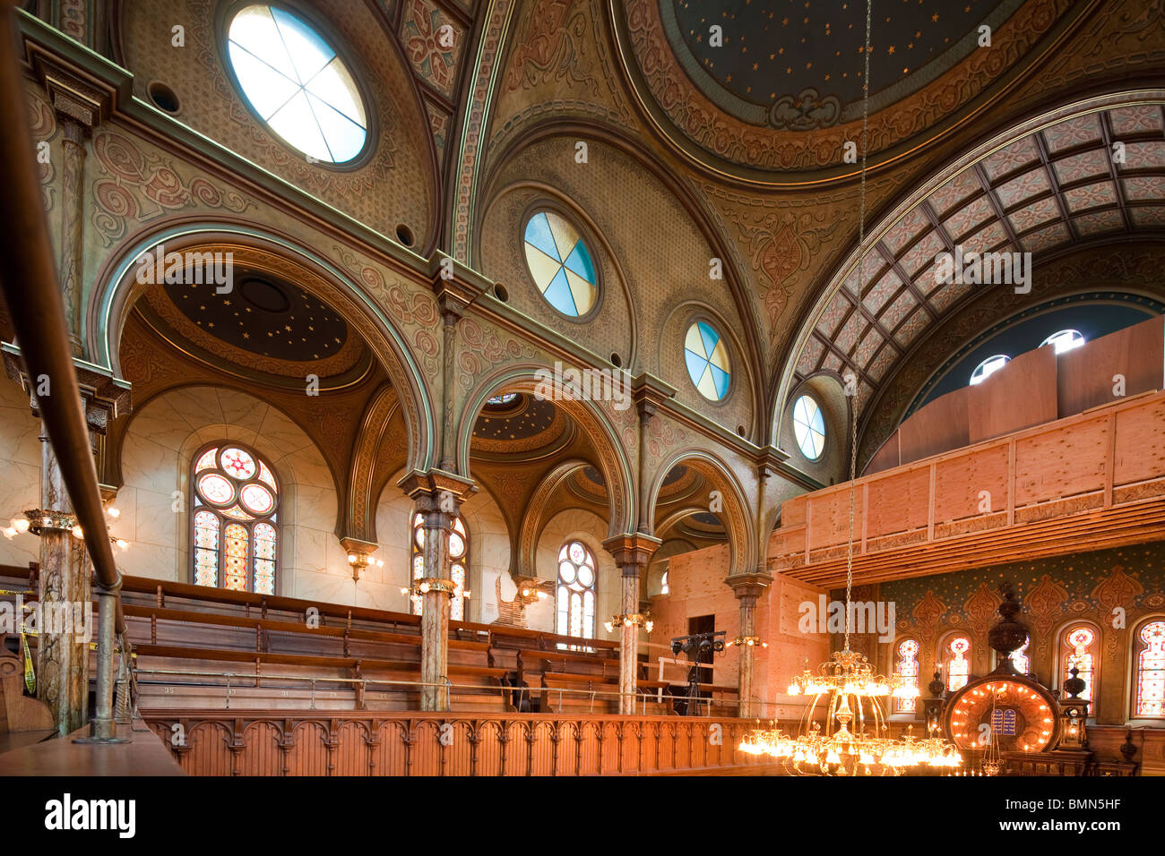 Eldridge Street Synagogue, Lower East Side, Manhattan, New