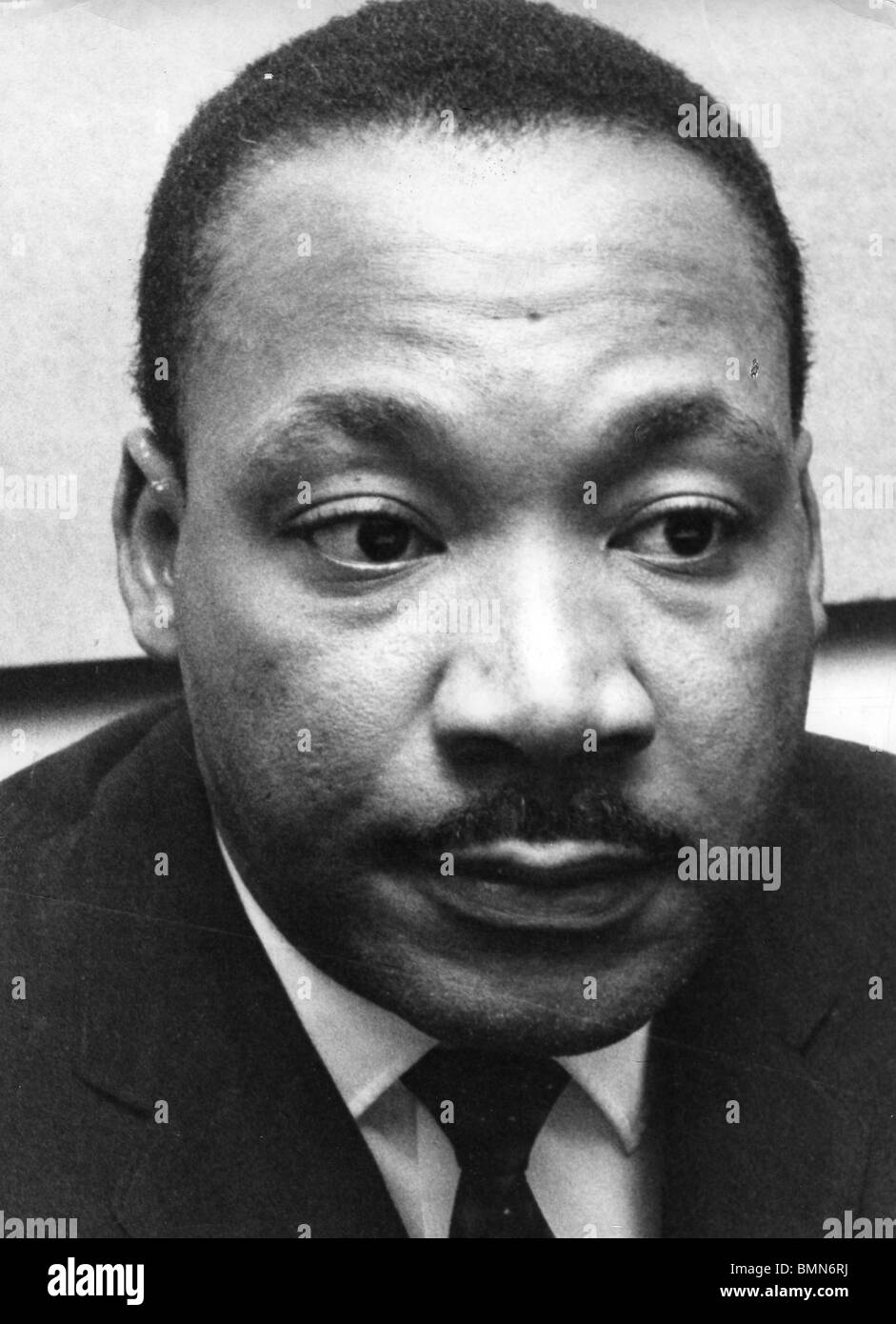 MARTIN LUTHER KING - US civil rights leader (1929-1968) - Stock Image