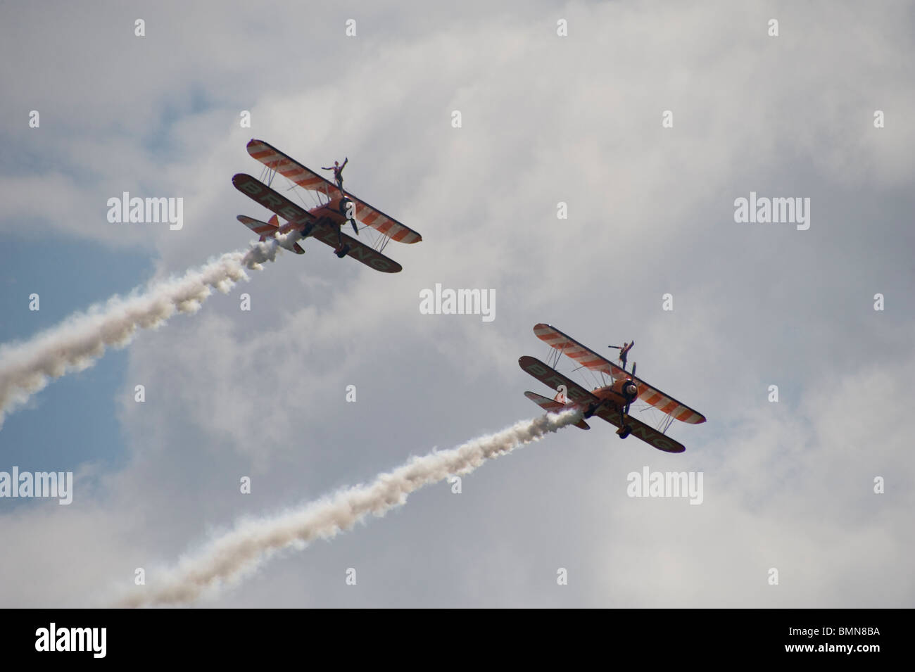 breitling sky walking team - Stock Image