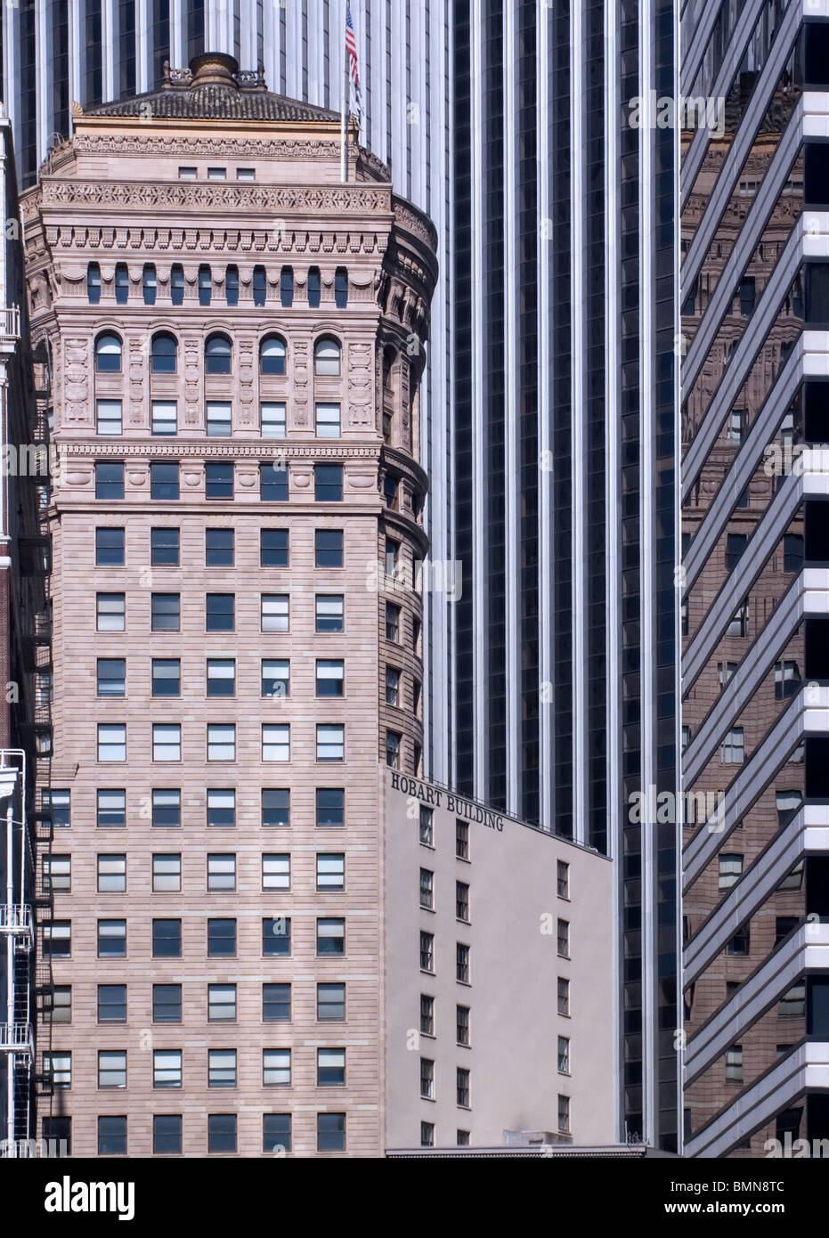 The Hobart Building, San Francisco, California, USA - Stock Image