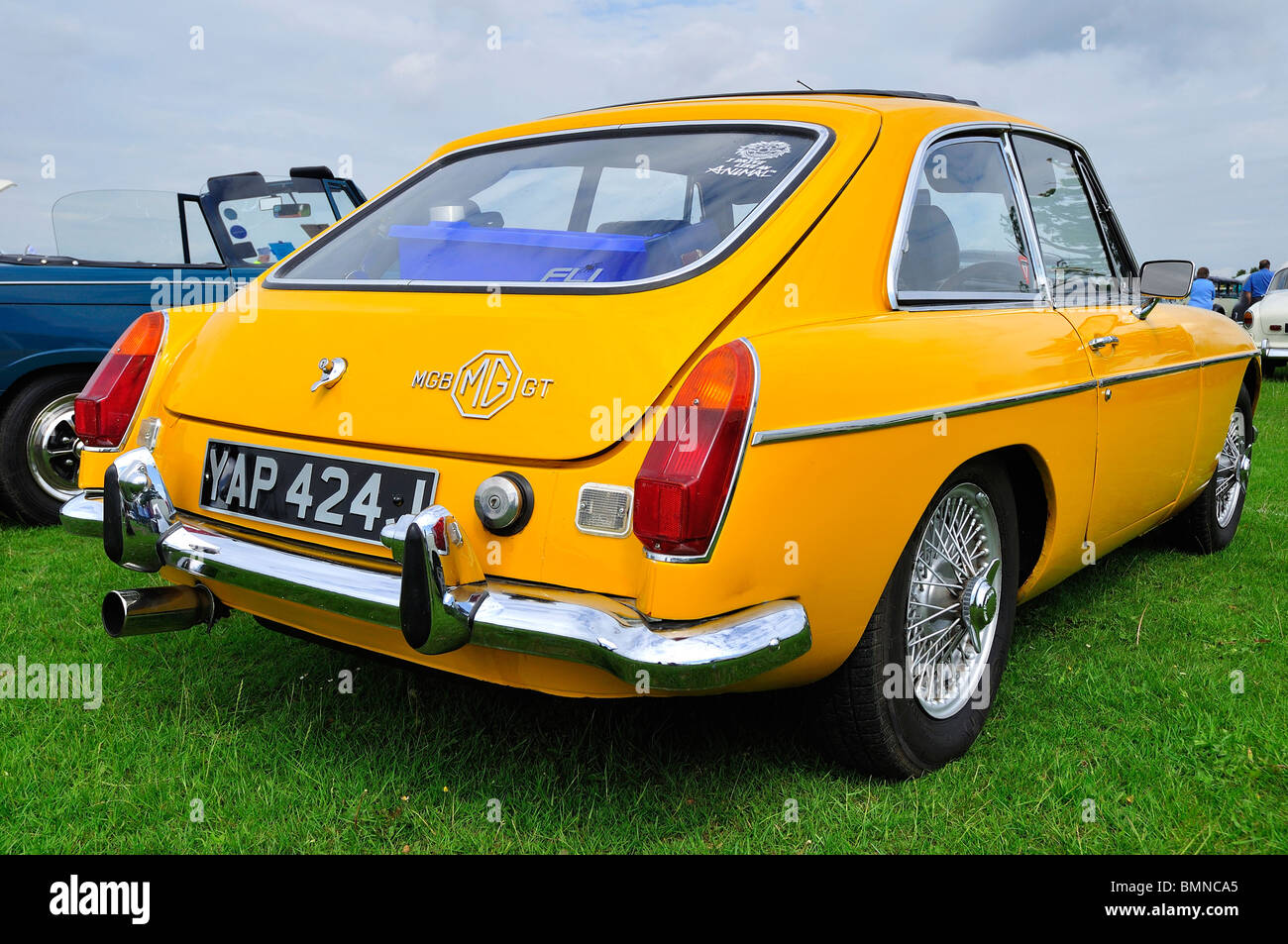 MG Car At Classic Car Show In Luton Stock Photo Alamy - Mg car show