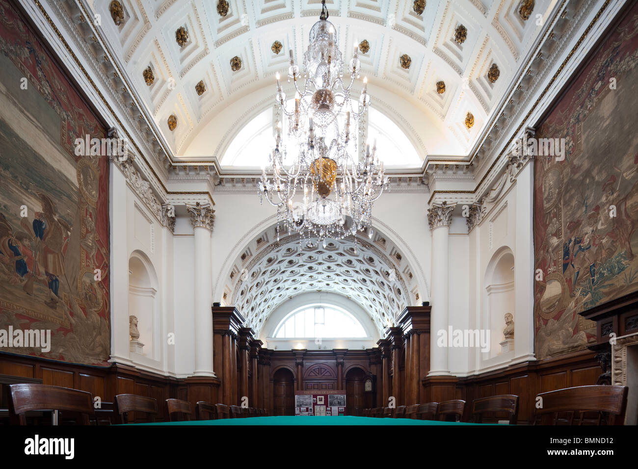The Irish House Of Lords Chamber, Formerly In The Irish Houses Of Parliament,  Now Bank Of Ireland, Dublin