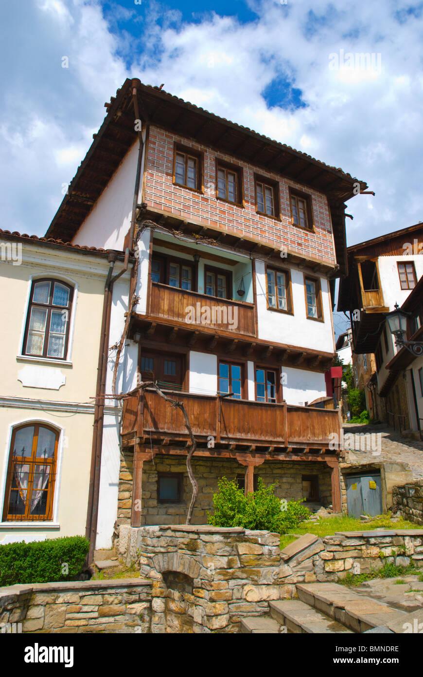 Samovodska Chorshia the old market now heritage site central Veliko Tarnovo central Bulgaria Balkans Europe Stock Photo