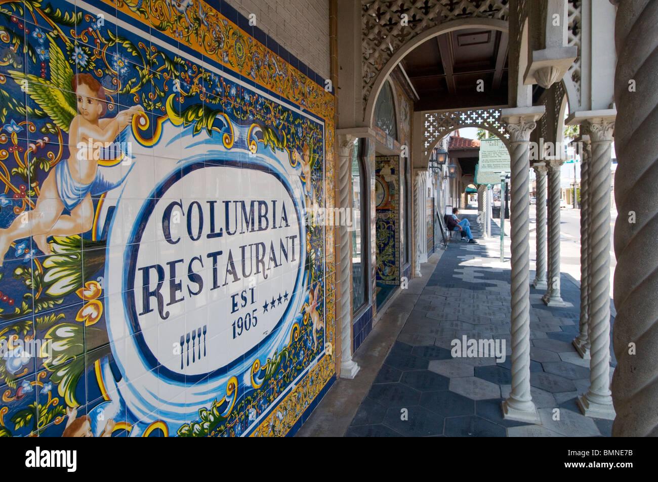 Columbia Restaurant In Ybor City Menu