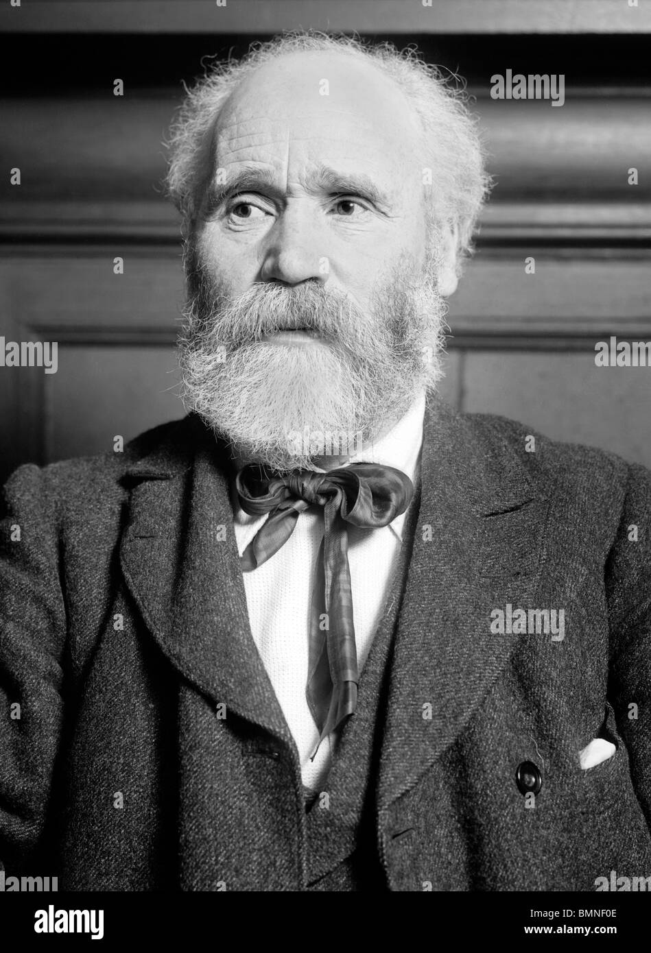 Photo c1909 of Scottish socialist James Keir Hardie (1856 - 1915) - first Independent Labour MP and first Labour Stock Photo