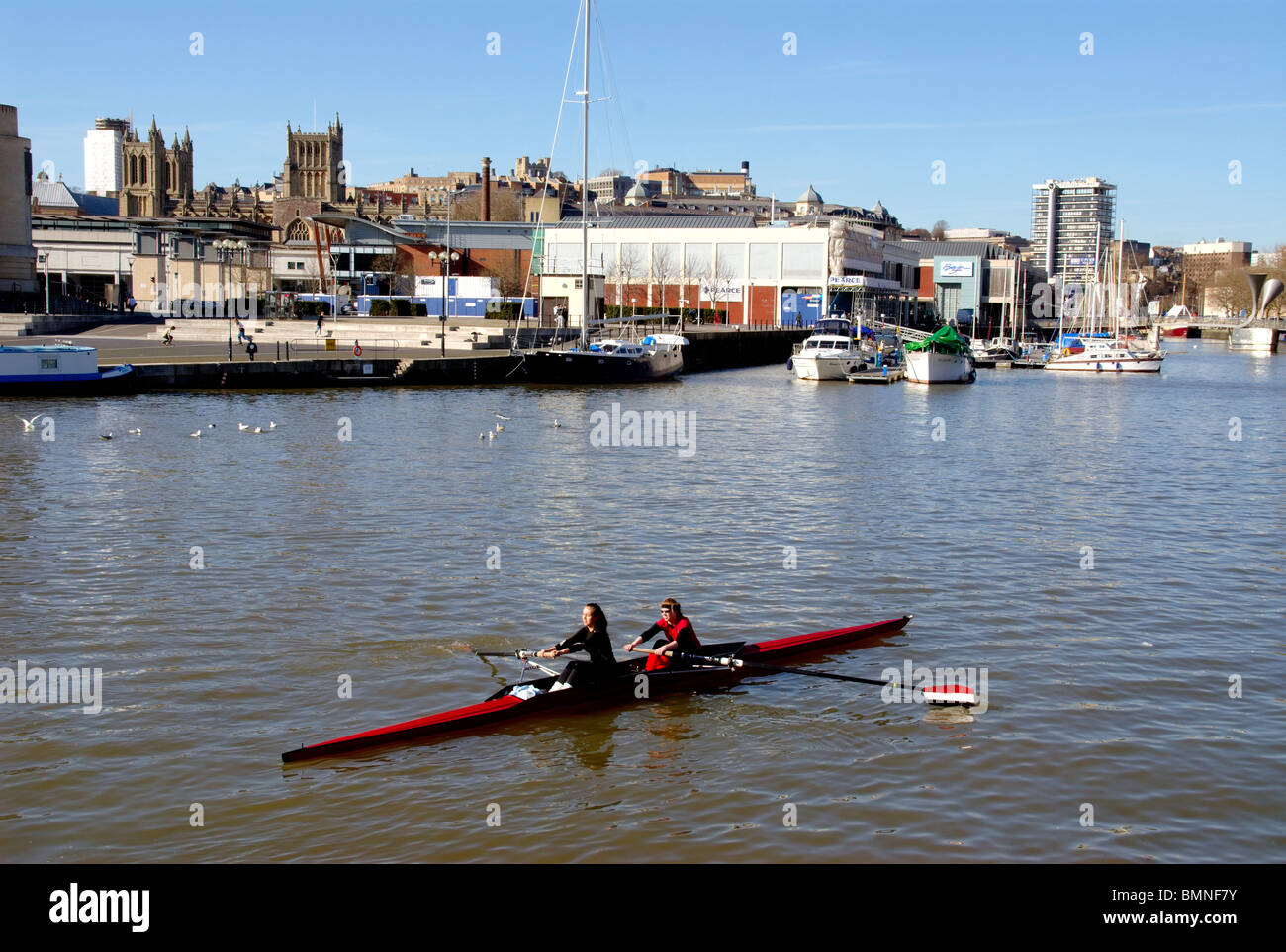 Bristol Docks Area - Stock Image