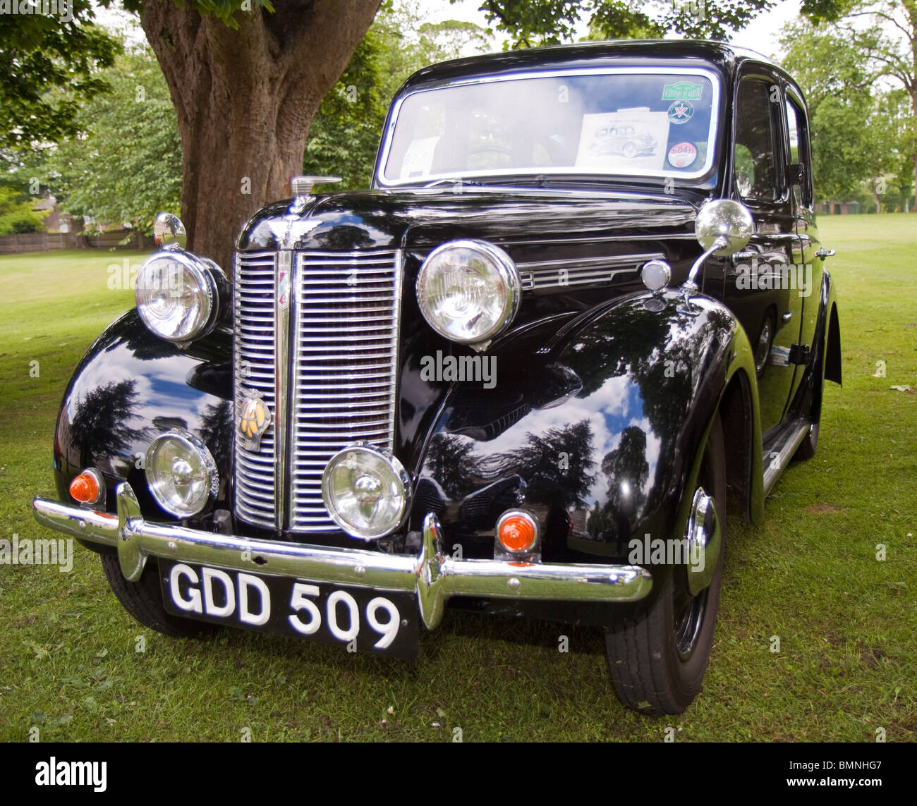 Black Austin 8 classic car Stock Photo: 29978263 - Alamy