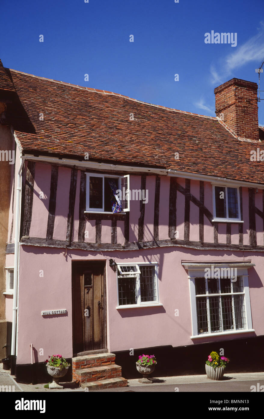 Suffolk, Lavenham - Stock Image