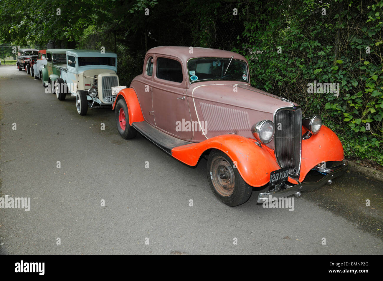 Vintage Hot Rods Stock Photos & Vintage Hot Rods Stock Images - Alamy