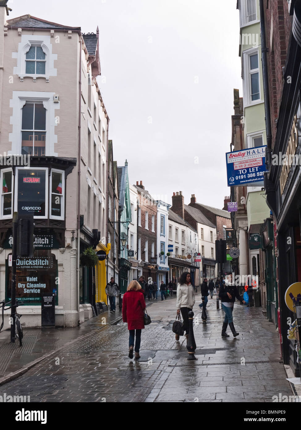Saddler Street Durham City Uk Stock Photo 29982129 Alamy